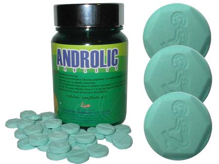 Androlic (Oxymetholone) 50mg by British Dispensary x 100